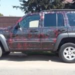 colantare jeep rugina
