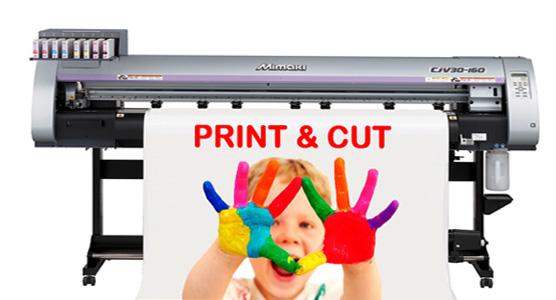 Autocolant printat si laminat pentru afacerea ta!